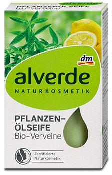 alverde Pflanzen-Ölseife Bio-Verveine