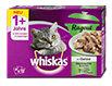 whiskas 1+ Jahre Ragout Katzenfutter Gemischte Auswahl in Gelee