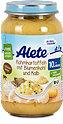 Alete Rahmkartoffeln mit Blumenkohl & Kalb