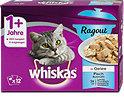 whiskas 1+ Jahre Ragout Katzenfutter Fisch Auswahl in Gelee