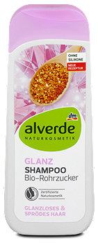 alverde Glanz-Shampoo Bio-Rohrzucker