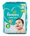 Pampers baby-dry Windeln Gr. 4+ (10-15 kg)