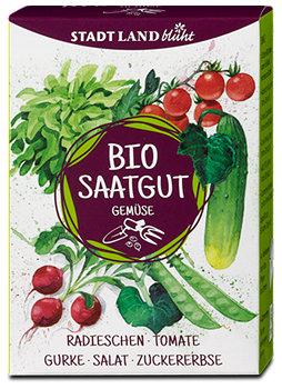 Stadt Land blüht Bio Saatgut Gemüse