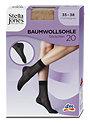 Stella Jones Baumwollsohle Söckchen 20 DEN