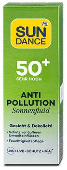 SUNDANCE Anti-Pollution Sonnenfluid LSF 50+