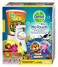 Dettol No-Touch Kids mit Nachfüller und Sticker