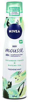 Nivea Body mousse Cucumber Touch & Matcha Tea