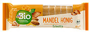 dmBio Fruchtschnitte Mandel Honig