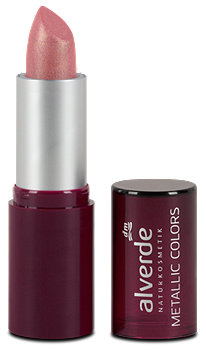 alverde Lippenstift Metallic Colors