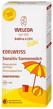 Weleda Edelweiss Sensitiv Sonnenmilch LSF 30