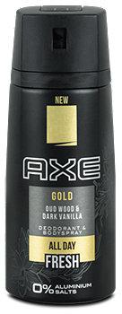 Axe Gold Deodorant & Bodyspray