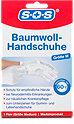 SOS Baumwoll-Handschuhe Größe M