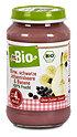 dmBio Fruchtbrei Birne, schwarze Johannisbeere & Banane