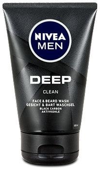 Nivea Men Deep Clean Waschgel für Gesicht & Bart