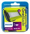 Philips OneBlade Rasierklinge Body kit
