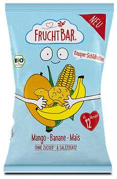 FruchtBar Knusper-Schildkröten Mango, Banane & Mais