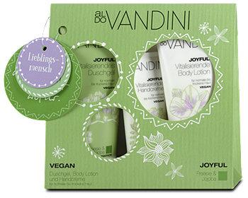aldo Vandini Joyful Duschgel + Handcreme & Body Lotion