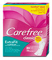 Carefree Slipeinlagen classic ExtraFit with cotton extract