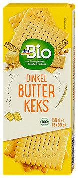 dmBio Dinkel Butterkeks