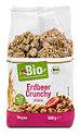 dmBio Müsli Erdbeer Crunchy mit Quinoa