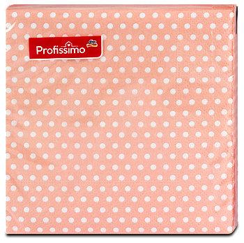 Profissimo Motiv-Servietten Babyparty Peach