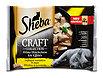 Sheba Craft Collection Katzenfutter Geflügel Variation in Sauce
