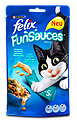 felix FunSauces Katzensnack gedünstete Meeresfrüchte