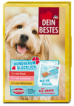 Dein Bestes Hundherum glücklich Hundesnack