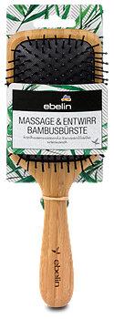 ebelin Massage und Entwirr Bambusbürste