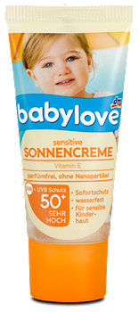 babylove Sensitive Sonnencreme LFS 50+