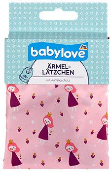 babylove Ärmel-Lätzchen mit Auffangschutz sort.