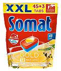 Somat Gold Geschirrspüler-Tabs 12 Multi-Aktiv XXL Pack