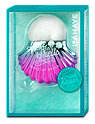 Lahaye Miss Mermaid Make-up Pinsel Muschel türkis-lila