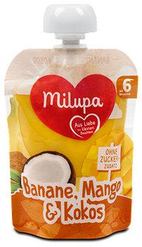 milupa Fruchtpüree Banane, Mango & Kokos