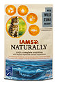 Iams Naturally Katzenfutter mit Wild-Thunfisch in Sauce