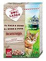 Dein Bestes Hofladen Katzenfutter Kalb & Huhn + Huhn & Pute
