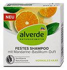 alverde Festes Shampoo Mandarine-Basilikum
