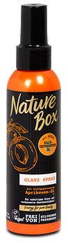 Nature Box Glanzspray mit kaltgepresstem Aprikosenöl