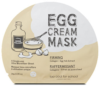 too cool for school Egg Cream Mask Firming
