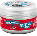 Wella Shockwaves Messy Matt Clay Haarpaste