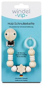 windel vip Holz-Schnullerkette