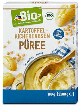 dmBio Kartoffel-Kichererbsen Püree