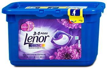 Lenor 3in1 Pods Colorwaschmittel Amethyst Blütentraum