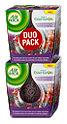 Air Wick Duftkerze Brombeere & Cranberry Duo Pack