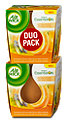 Air Wick Duftkerze Anti-Tabac-Orange Duo Pack