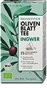 Olea Europaea Bioaktiver Oliven Blatt Tee Ingwer