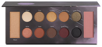 Mrs. Bella 12 Color Shadow, Blush & Highlighter Palette