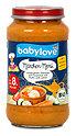 babylove Märchen-Menü auf Couscous mit Huhn und Lamm