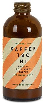 Kaffeetschi kalt gebrauter Kaffee Mandelmilch