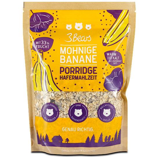 3bears porridge mohnige banane m sli cerealien im dm online shop. Black Bedroom Furniture Sets. Home Design Ideas